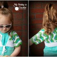 Tropical Waves Bolero ~ My Hobby is Crochet
