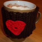 Hug in a Mug – Valentine Mug Cozy ~ Lucy 'In the Sky'