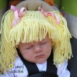 Wig Hat – Infant & Child ~ Celina Lane – Simply Collectible