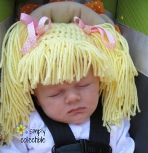 Wig Hat - Infant & Child ~ Celina Lane - Simply Collectible