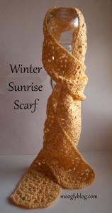 Winter Sunrise Scarf ~ Moogly