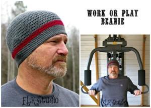Work or Play Beanie ~ Kathy Lashley - ELK Studio