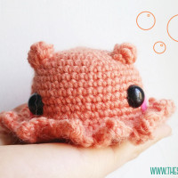 Amigurumi Cute Octopus Opisthoteuthis Adorabilis ~ The Sun and the Turtle