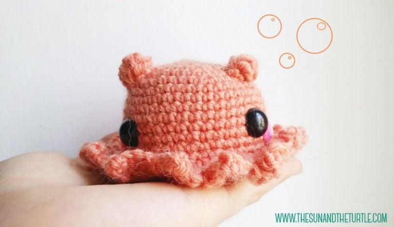 Amigurumi Cute Octopus Opisthoteuthis Adorabilis ~ FREE ...