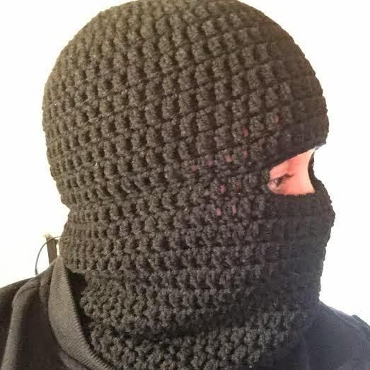 Winter Crochet Balaclava