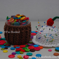 Cupcake Container ~ Crochet Treasures
