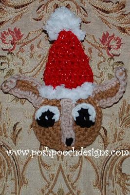 Chihuahua Christmas Ornament Free Crochet Pattern