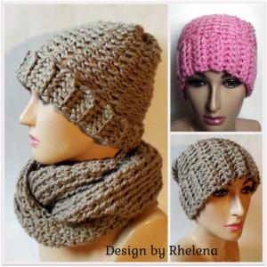 Charisma Slouchy Beanie ~ Rhelena - CrochetN'Crafts