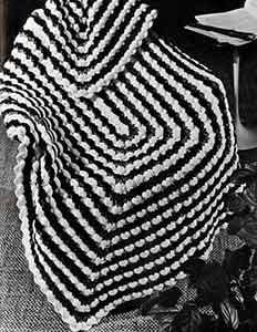 Cockleshells Afghan ~ Free Vintage Crochet