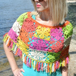 Crochet Summer Poncho ~ Jane Green - Beautiful Crochet Stuff