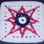 Fireworks Afghan Square ~ Crochet N More