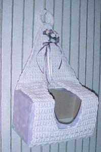 Hanging Tissue Cover ~ Crochet 'N' More
