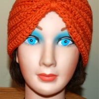 Crochet Turban Hat ~ Amy - Crochet Jewel