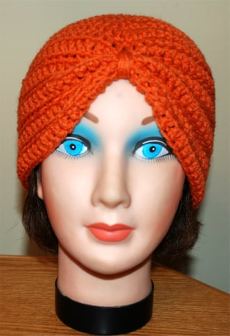 Free Crochet Pattern Baby Turban : Crochet Turban Hat ~ FREE Crochet Pattern