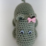 Hettie the Hippo ~ Free Crochet Patterns and Designs by LisaAuch
