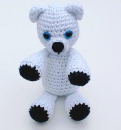 Klondike the Snow Bear ~ Rhondda Mol - Stitch & Unwind