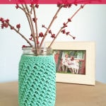 Mason Jar Cozy ~ Rebecca Langford – Little Monkeys Crochet