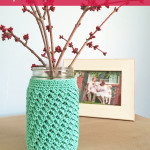 Mason Jar Cozy ~ Rebecca Langford - Little Monkeys Crochet
