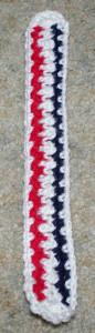 Patriotic Bookmark ~ Crochet N More