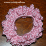 Easy Ponytail Holder ~ Crochet Jewel