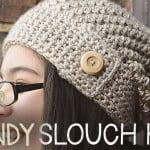 Sandy Slouch Hat ~ Rebecca Langford - Little Monkeys Crochet