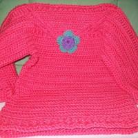 Simple Crochet Toddler Sweater ~ Cats-Rockin-Crochet