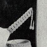 Shell Tie Back ~ Free Vintage Crochet