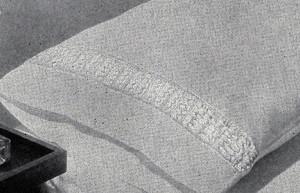 Pillow Case Insertion ~ Free Vintage Crochet