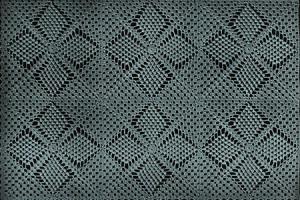 Diamond Cluster Bedspread ~ Free Vintage Crochet