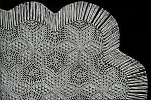 Six Pointed Star Bedspread ~ Free Vintage Crochet