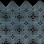 Garden Paths Bedspread ~ Free Vintage Crochet