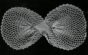 Butterfly Bow ~ Free Vintage Crochet