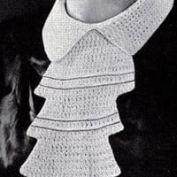 Empire Collar ~ Free Vintage Crochet