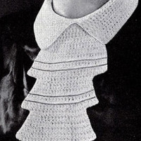 Empire Collar ~ Free Vintage Crochet