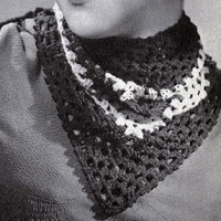 The Kerchief Pattern #2033 ~ Free Vintage Crochet