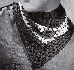 The Kerchief Pattern #2033 ~ Free Vintage Crochet