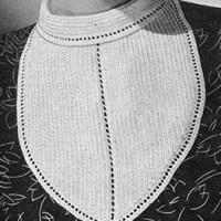 Bib Collar ~ Free Vintage Crochet