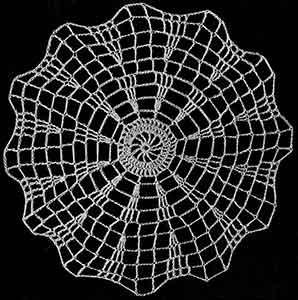 Mesh Doily ~ Free Vintage Crochet