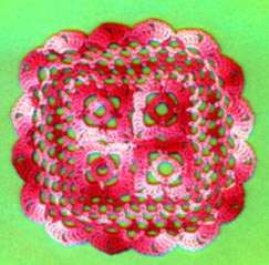 Squares in Square Motif ~ Patty's Filet and Crocheting Page