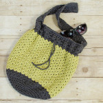 Summer Crochet Bag ~ Petals to Picots