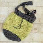 Summer Crochet Bag ~ Petals to Picots
