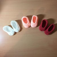 Simple Newborn Booties ~ Hooking is a Lifestyle