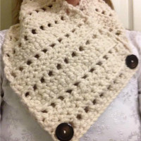 Crochet Neck Warmer ~ Amy - Crochet Jewel