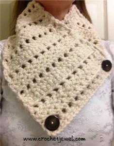 Crochet Neck Warmer ~ Amy - Crochet Jewel