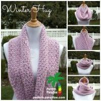 Winter Hug Infinity & Flat Scarf ~ Pattern Paradise
