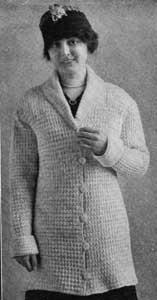 Woman's Sweater Pattern ~ Free Vintage Crochet