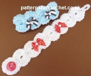 Bracelet ~ Patterns For Crochet