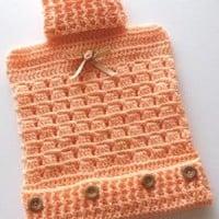 Hot Water Bottle Cover ~ Patterns For Crochet