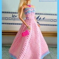 Fashion Doll Strapless Gown ~ Maz Kwok's Designs