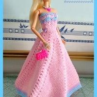 Fashion Doll Strapless Gown ~ Maz Kwok's Designs